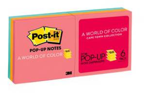 3M Post-it PopUp R330 Cape 6pk