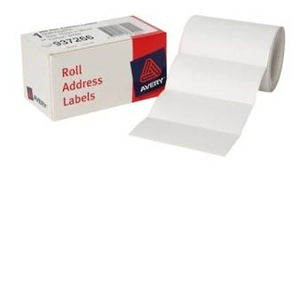 Avery DMR7638RA Roll Address 76x38mm Labels