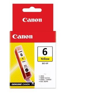Canon BCI6Y Ink Yellow