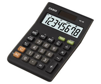 Casio MS-8B Tax & Exchange Mini Desktop Calculator