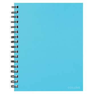Collins Notebook Wiro A5 Ice Blue