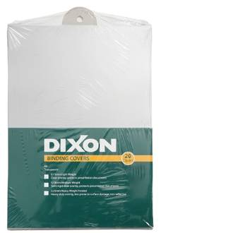 Dixon Cover Clear (0.15) Lightweight 20 Pack
