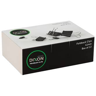 Dixon Foldback Clips 41mm Box of 12