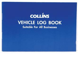 Collins Vehicle Log Book 40 Li