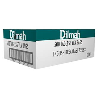 Dilmah English Breakfast Tea Bags Box 500