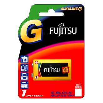 Fujitsu Batteries 9V Ultra Alkaline 1 Pack Single