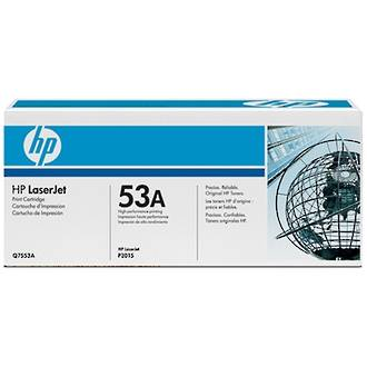 HP Q7553A Toner Black 3K