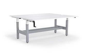 Cubit Highrise 1800 Shared Desk 660 - 1060mm Complete * CLEARANCE *