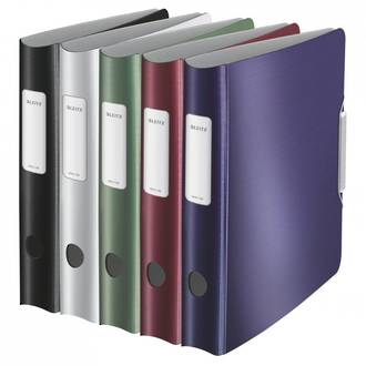Leitz Style Lever Arch File 180 Deg A4 65mm - 5 Colours