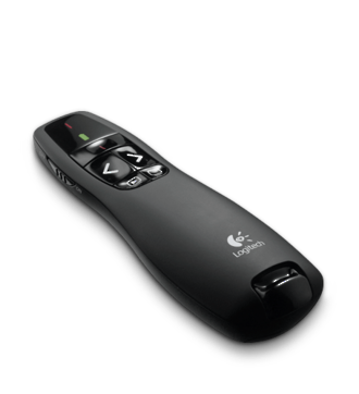 Logitech R400 Cordless Presenter with Laser Pointer