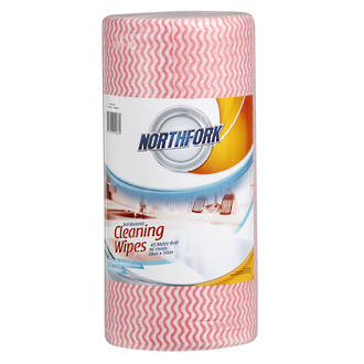 Northfork Antibacterial Wipes Regular - Red * SPECIAL *