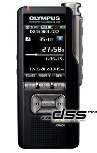 Olympus DS-3500 Digital Voice Recorder * DISCONTINUED *