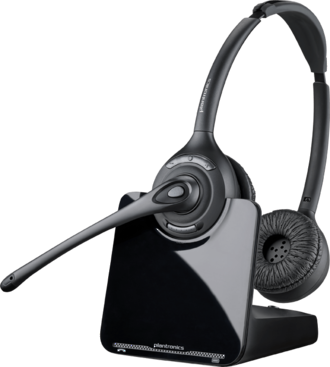 Plantronics CS520 Over-the-head Binaural Wireless Headset