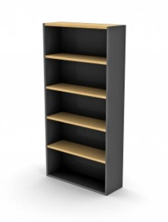 Proceed Bookcase 1800h with 4 Shelves