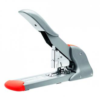 Rapid HD210 Heavy Duty Stapler Silver/Orange