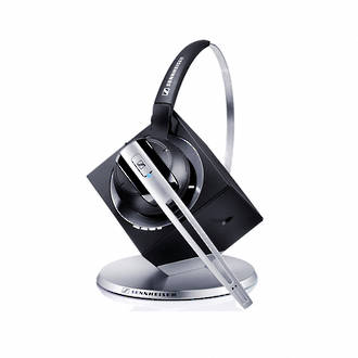 Sennheiser DW Office Wireless DECT Office Headset with Base Station