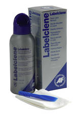 AF LabelClene 125ml label cleaning liquid with scraper & wipes