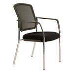 Buro Lindis Mesh Visitor Chair 4 Leg with Arms