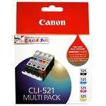 Canon CLI521MULTI Value Pack