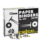 Celco Paper Binders 13mm Box 200