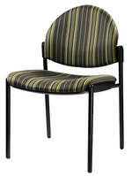 CS Venice Chair Black 4 Leg Chair