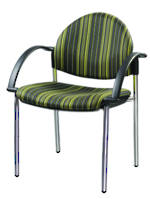 CS Venice Chair Chrome 4 Leg