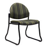 CS Venice Chair Black Sled