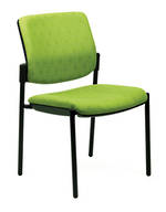 CS Linea Chair Black 4 Leg