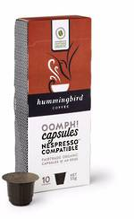 Hummingbird Coffee Capsules OOMPH! NESPRESSO®* Compatible
