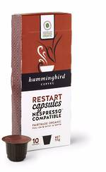 Hummingbird Coffee Capsules RESTART NESPRESSO®* Compatible