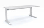 Cubit Aero Adjustable Length Desk Frame with Custom Top