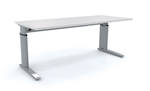Cubit Aero Adjustable Height and Length Desk Frame with Custom Top